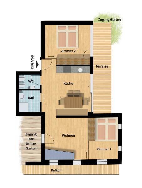 Ferienwohnung in osttirol appartements in innervillgraten for Ferienwohnung juist privat 2 personen